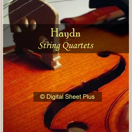 Product picture Haydn String Quartets Sheet Music Collection (Downloads)