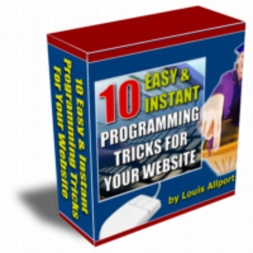 Product picture 10 Easy & Instant Programming Tehcniques  & Tricks website