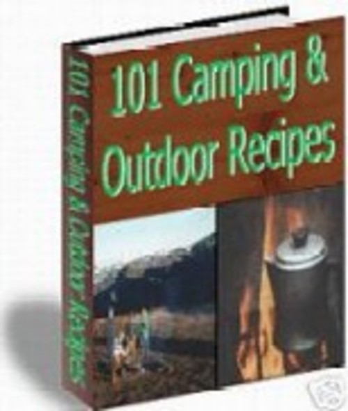 Product picture 101 Camping and Outdoor Recipes ebook