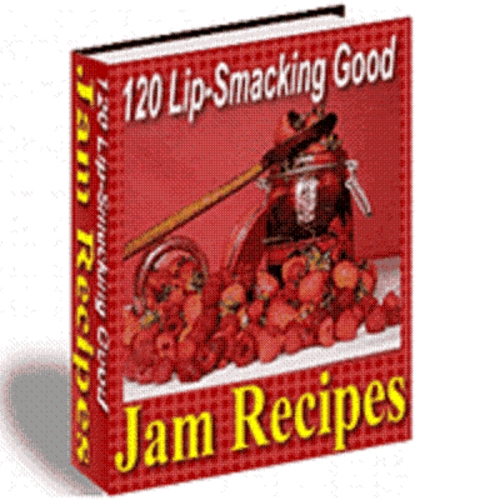 Product picture 120 Lip Smacking Good Jam Recipes