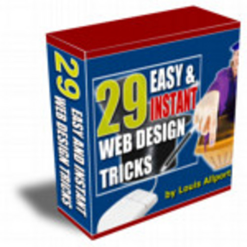 Product picture 29 Easy & Instant Web Design Tricks Volume 1