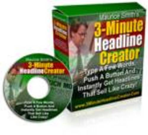Product picture 3 Minute Headline Creator